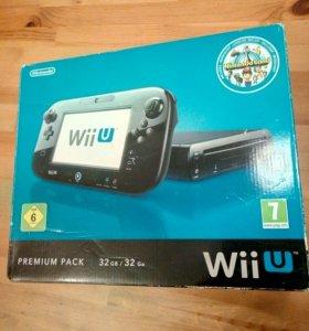 Nintendo Wii U (premium pack 32gb) + 3 игры