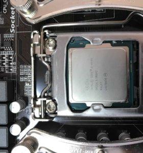 Материнка процессор core i5 4690k память 8 GB