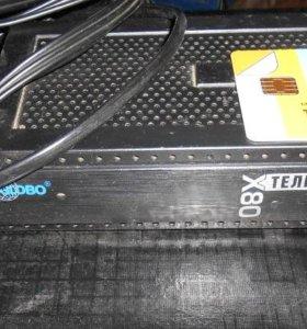 Телекарта (ресивер Globo X80 c картой доступа)
