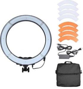 Кольцевая лампа 240LED (полная комплектация)