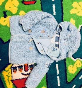Prenatal кофта с капюшоном