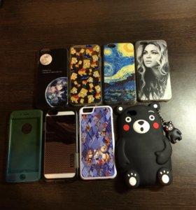 Чехлы на iPhone 6-6s (айфон)
