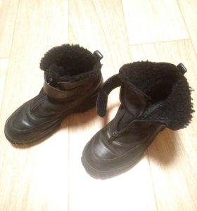 Зимние ботинки р.33