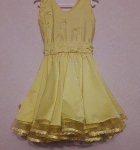 Платье для бальных танцев (бейзик)