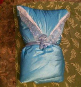 Конверт-одеяло для выписки.