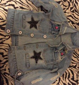 Куртка джинсовая р. 110