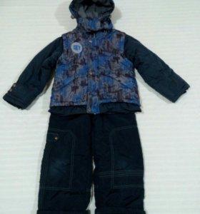 Зимний костюм для мальчика 110-116