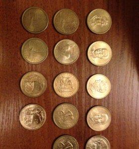Однодолларовые монеты