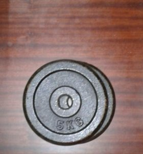 Продам Блины 5 кг/2кг/1кг/0.5кг для штанги