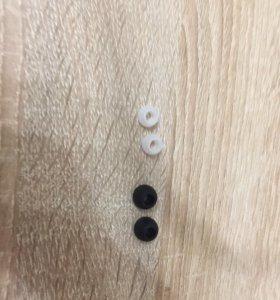 Заклёпки для наушников новые.
