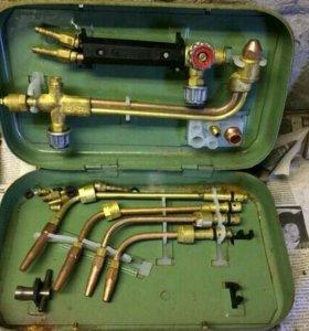Сварочная газовая гарелка Г2-04 с пятью насадками!