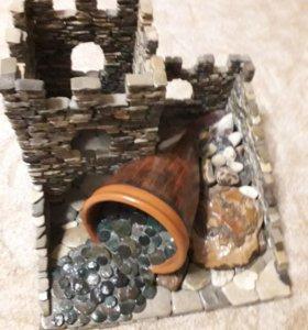 Крепость из камушек