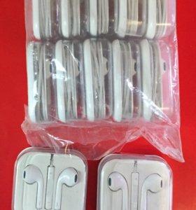 Наушники на iPhone 5,5s 6,6s