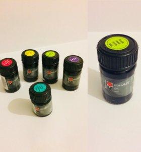 Витражные краски для ногтей