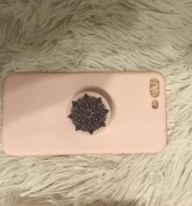 Чехол iPhone 7 plus с кронштейном