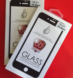 5D стекло на iPhone 6,6s 7