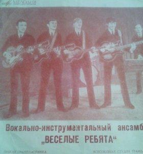 Грампластинки разных певцов