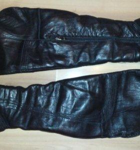 Сапоги - ботфорты зимние натуральная кожа 38