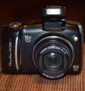 Фотоаппарат Canon PowerShot SX120 IS