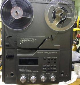 Орбита 107-С катушечный магнитофон