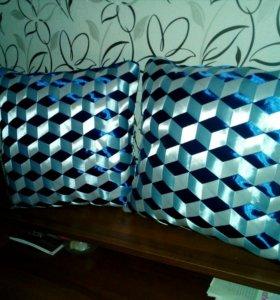Интерьерные 3д подушки