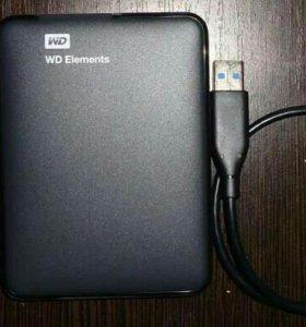 Переносной жесткий диск 500 ГБ
