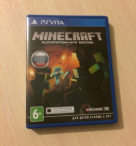 """Game for PS VITA """"MINECRAFT"""""""