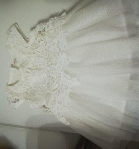 Платье для маленькой снежинки