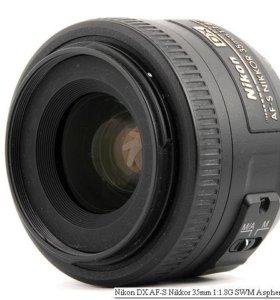 Nikon AF-S DX 35mm F1.8 G Nikkor