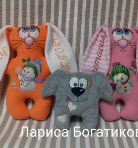 Именные игрушки ( на заказ)