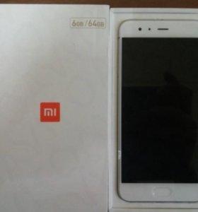 Смартфон Xiaomi Mi6 64Gb IPS 5.15 дюйм., RAM 6 Гб