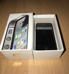 iPhone 4s 32gb чёрный
