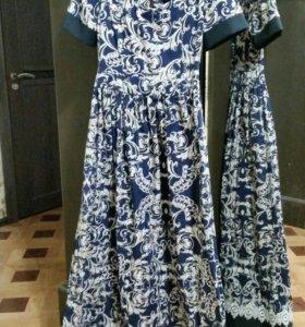 Платье макси 42-44 р