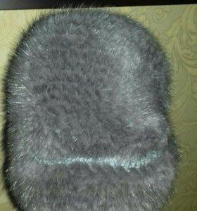 Норковая шапка ( вязаная)