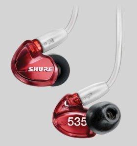 Новые наушники Shure SE535LTD