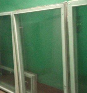 Рамы (бу) деревянные со стеклом.