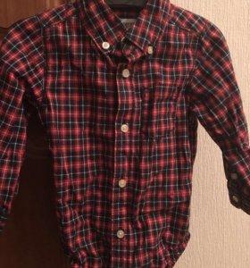 Рубашки-боди Carter's 12m