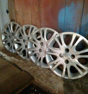 Колпаки на 15 радиус от Hyundai