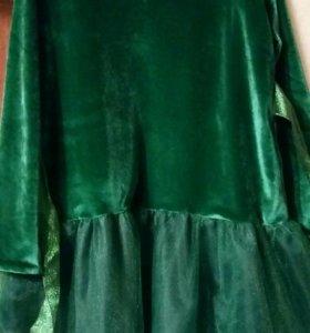Платье костюм ёлки