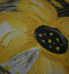 Картина на холсте(ручная работа)