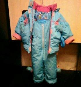 Комбез с курткой детский