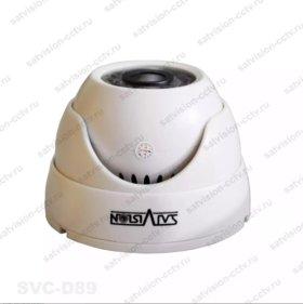 Видеокамера внутренняя 1 МП, 2МП, 4МП.