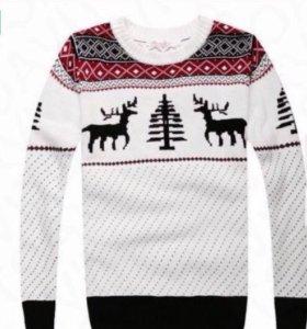 Новогодние свитера 4 шт, фэмили лук family look