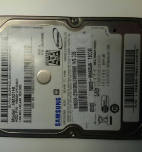 Жёсткий диск 2.5 320 Gb