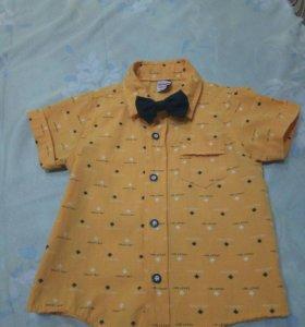 Рубашка нарядная 1-2 года