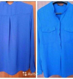 Блузка и ажурная кофточка