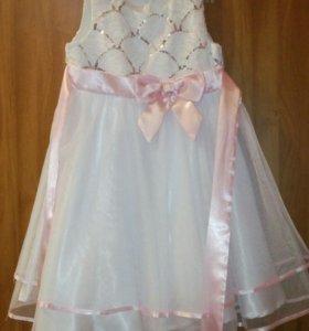 Платье нарядное праздничное Новый год