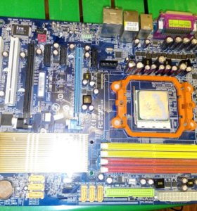Gigabyte GA-M57SLI-S4 + процессор