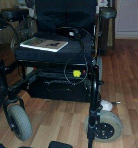 Инвалидная коляска с электроприводом отто бок 400