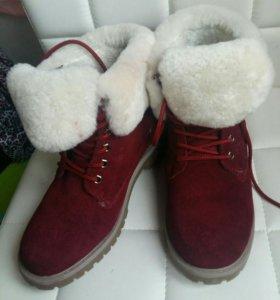 Зимние ботинки, 38 р